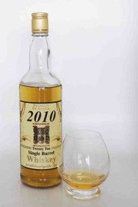 Schoonspruit 2010.  Whiskey from South Africa