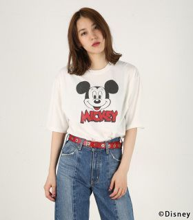 【MICKEY'S FACE Tシャツ】|【MOUSSY】公式通販サイト シェルターウェブストア|SHEL'TTER WEB STORE