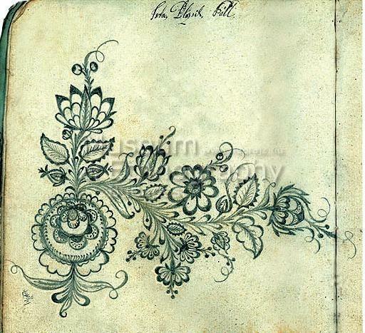 Embroidery, Balázsik Pál - Csongrád, 1819-1824
