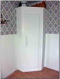 Small corner pantry