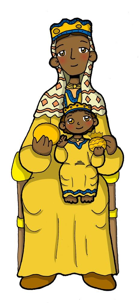 Fiesta: 27 de abril            Según la leyenda, la primera imagen de la Virgen de Montserrat la encontraron unos niños pastores en el año ...
