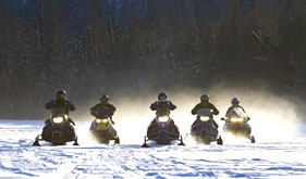 Snowmobiling - http://ow.ly/8IPPB