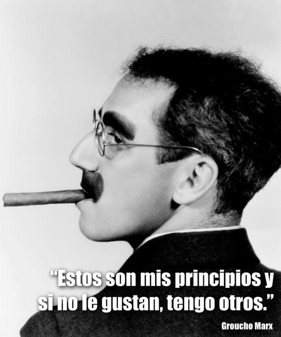 Resultado de imagen de Frases de Groucho Marx