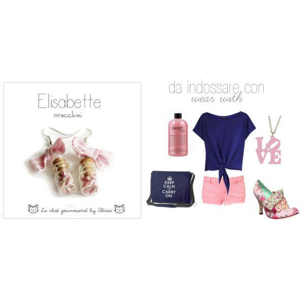 Elisabette-earrings, created by alixia88.polyvore.com
