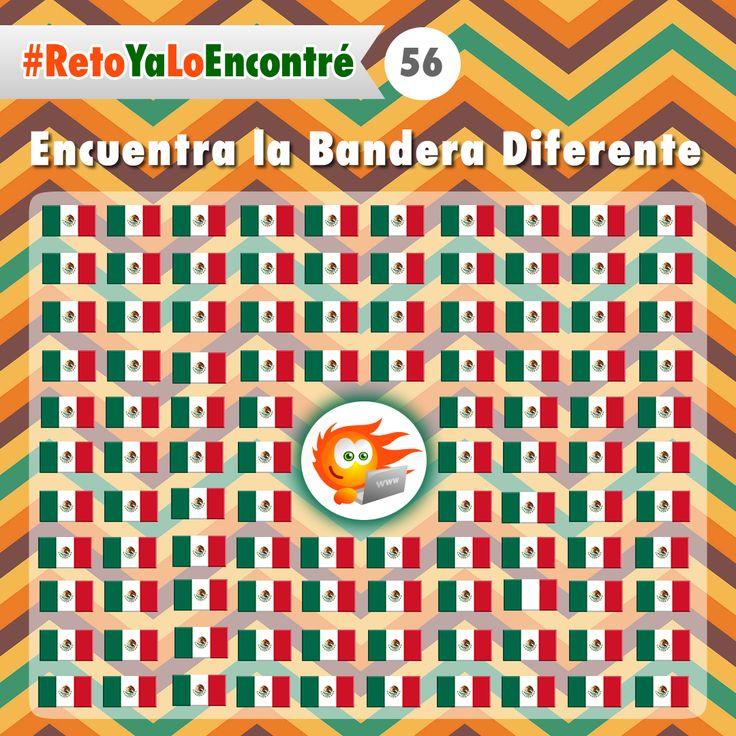 Encuentra la bandera diferente #México #Retos #Juegos