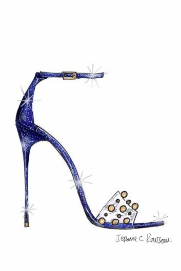 Jerome Rousseau re-imagines Cinderella's Glass Slipper. Click on the image to read more.