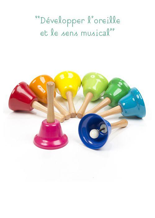 Apprentissage des notes de musique, développe la concentration et affine le sens auditif