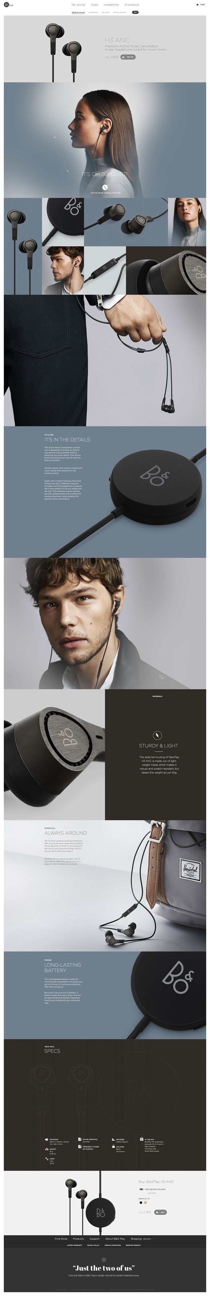 BeoPlay H3 on Behance