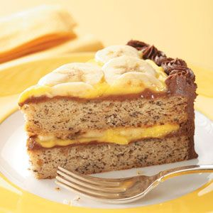 Banana cake - really tasty batter ;o)