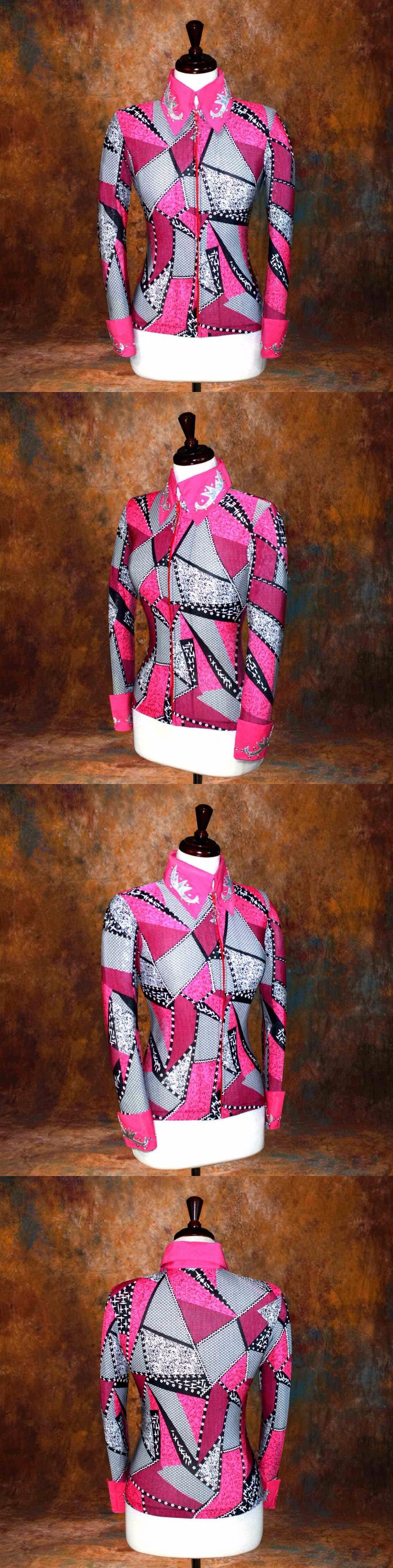 Other Rider Clothing 3167: 3X-Large Showmanship Pleasure Horsemanship Show Jacket Shirt Rodeo Queen Rail -> BUY IT NOW ONLY: $74.98 on eBay!