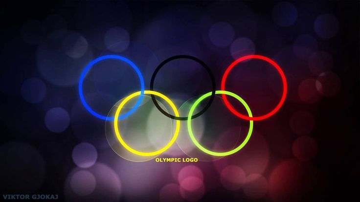 Olympic Logo Photoshop Wallpaper (Tutorial)  #Olympic #Games #Logo #Photoshop #wallpaper #Tutorial #how to #create #logo #wallpaper #backgrounds #bokeh #effects #colors #video #learn #ps