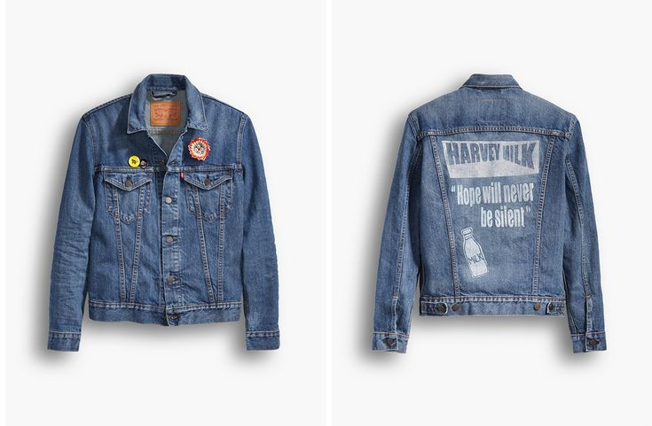 Celebrate Pride in Style With This Harvey Milk-Inspired Levi | Sharp Magazine