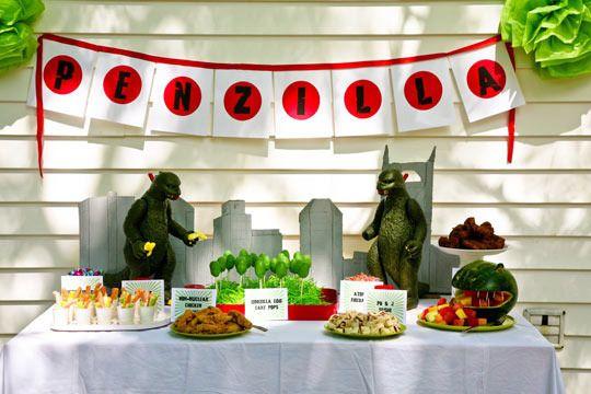 Best Kids' Parties: Godzilla My Party
