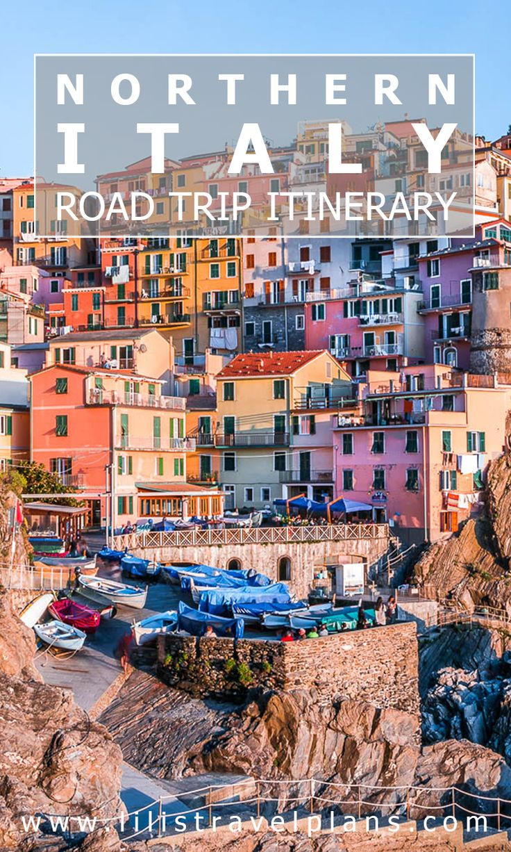 ITINERARY - Northern Italy road trip