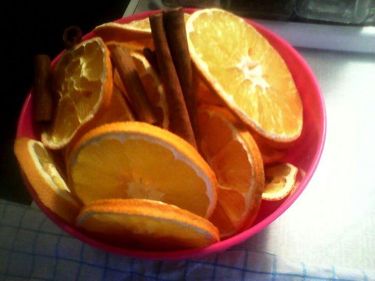 Pomerančové ozdoby