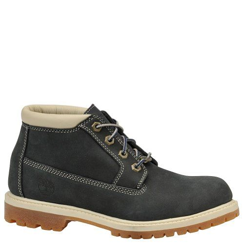 Timberland Women's Nellie Double WP Ankle Boot,Navy,8.5 W US. Timberland set new industry standards for craftsmanship, durability and protection when it introduced an authentic, waterproof leather boot in 1973. A global leader in design, engineering and marketing of premium footwear, Timberland values consumers who cherish the outdoors and their time in it. Timberland has been an industry leader in the use of both sustainable and recycled materials in its shoes, as well as its footwear…