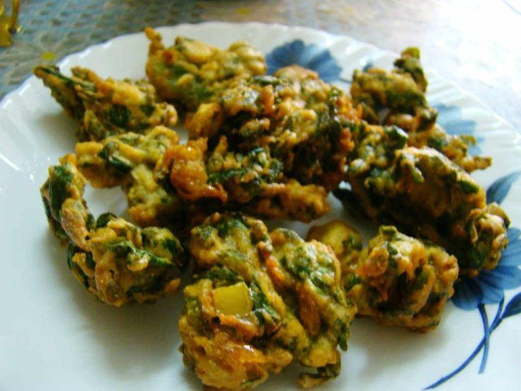 Palak Bhajia Recipe | How to make Palak Bhajia - Snacks