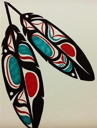 Maori feathers