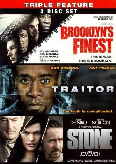 BROOKLYN'S FINEST/TRAITOR/STONE