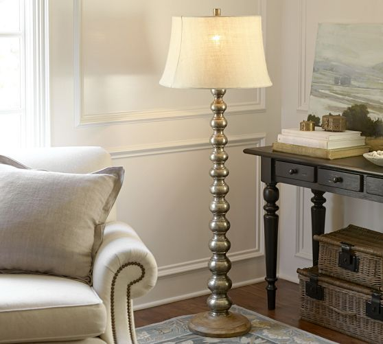 On My Registry Sherwood Stacked Floor Lamp Base This Finish Would Probably Work With That The Belle Table They Dont Have To Match But Just Need