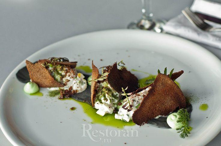 Форшмак из дальневосточной сельди с зеленым яблоком от шеф-повара ресторана DoZari