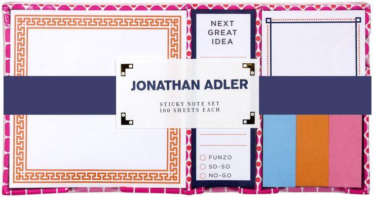 Jonathan Adler Sticky Note Set, Dots - Free Shipping