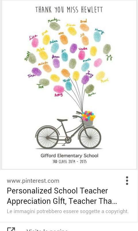 regalo personalizzato perfetto per una maestra
