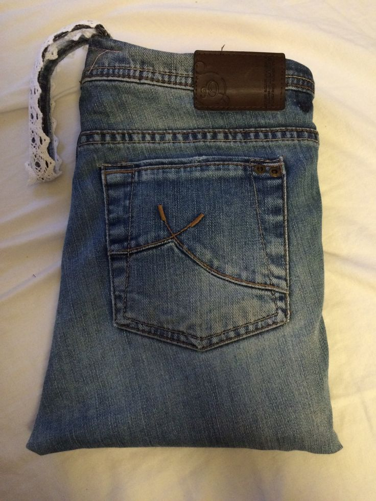iPad Tasche aus alter Jeans  #upcycling