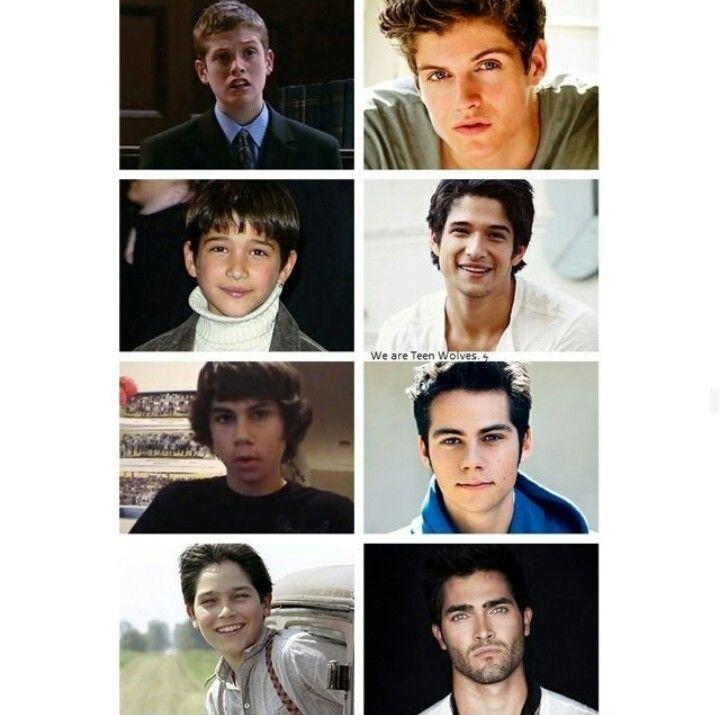 Daniel Sharman | Tyler Posey | Dylan O'Brien | Tyler Hoechlin | Teen Wolf cast |