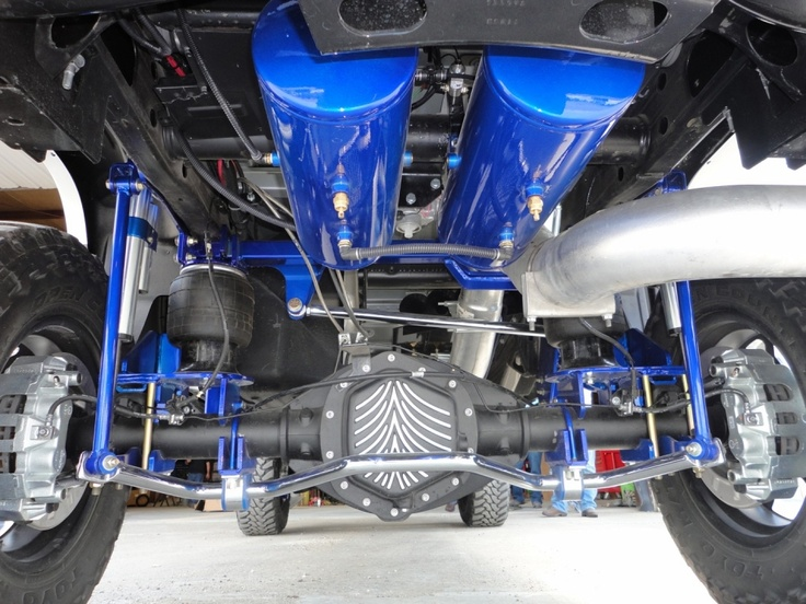 how to build a better suspension for truck