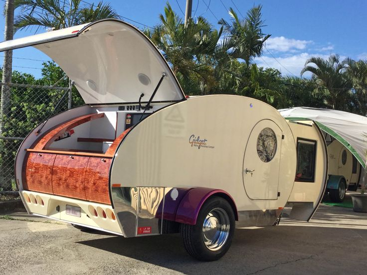 High Quality Gidget Retro Teardrop Camper   Australian Designed And Owned Retro Style  Camper