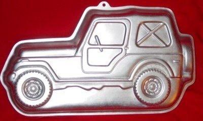Wilton Rare Jeep Truck Suv Trail Blazer Cake By