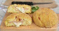 Le bombe di riso farcite al forno sono un piatto facilissimo da fare e anche veloce! Le apprezzeranno tutti anche perche' sono al forno!