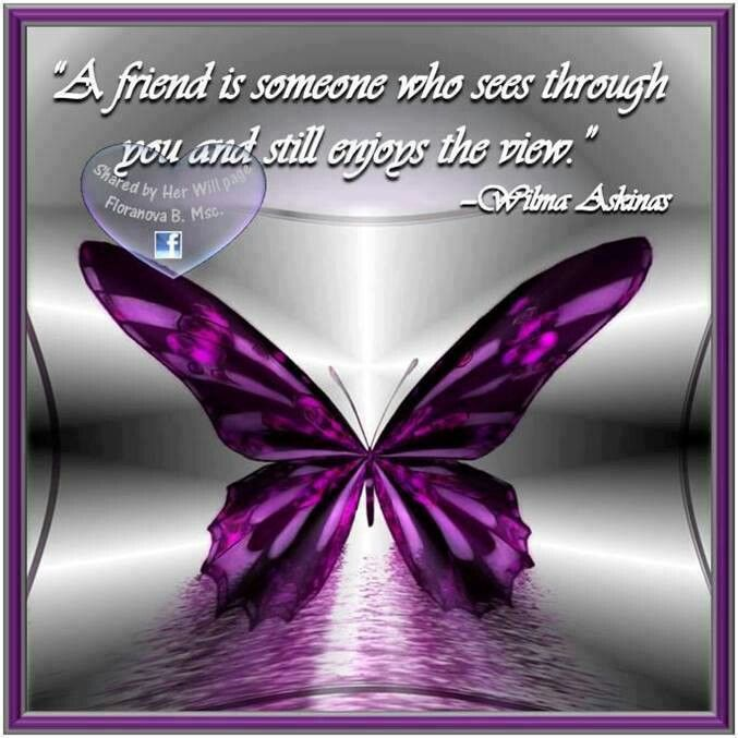 Friendship Quotes About Butterflies : Best images about purple butterfly quotes on