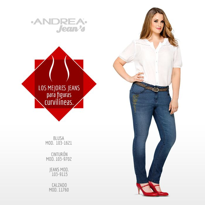 Andrea Jeans creó una línea de moda para todas las chicas curvilíneas.