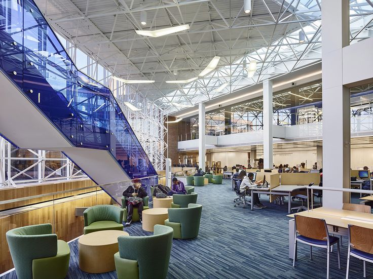 Gallery of Medgar Evers College Library / ikon.5 architects - 2