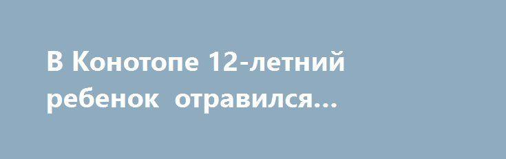 В Конотопе 12-летний ребенок отравился алкоголем http://sumypost.com/sumynews/obwestvo/konotop_alkogol  На Сумщине молодеет алкоголизм.