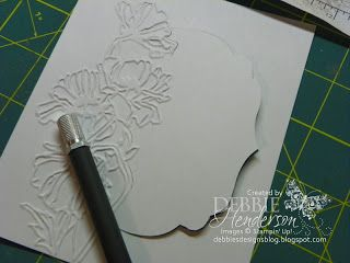Debbie's Designs: Free Tutorials, Tips, Techniques:  Partially Cut Framelit Shape!