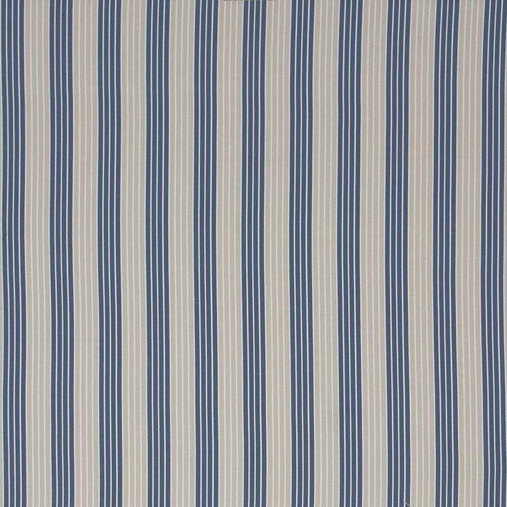 Warwick Fabrics : FINLAND, Colour DENIM