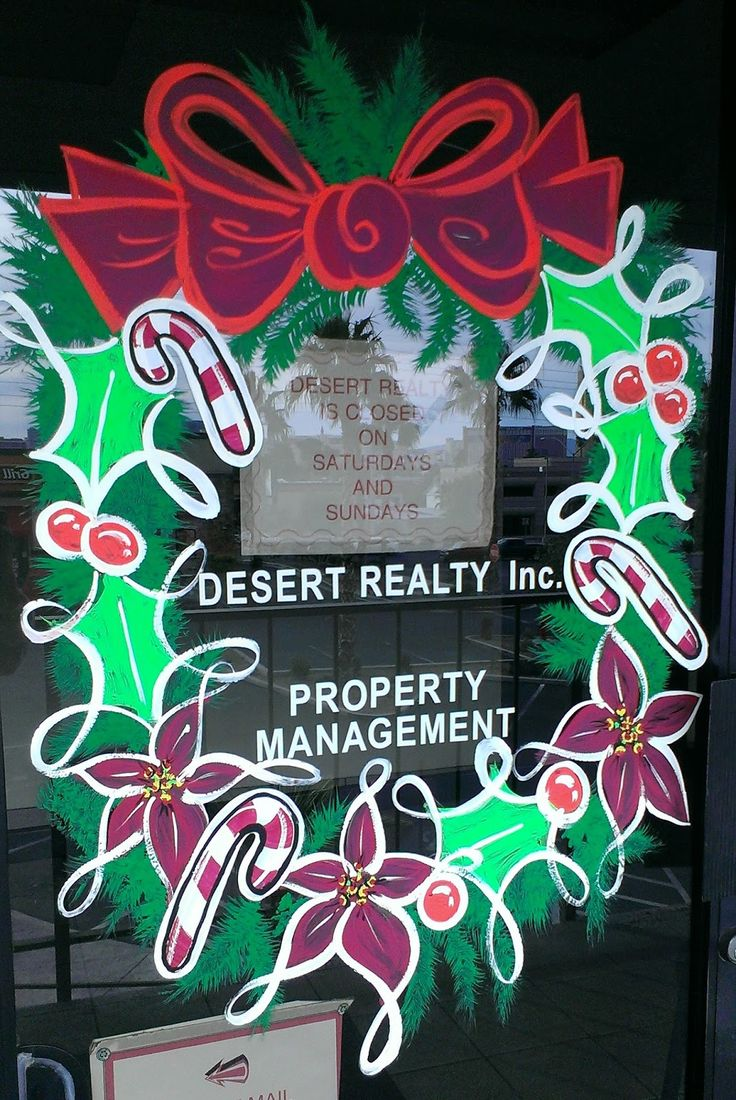 Christmas window painting decorations - Find This Pin And More On Window Painting Design Ideas