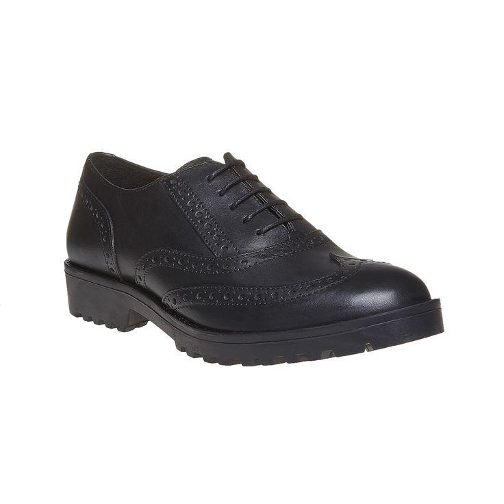 Scarpe stringate da donna ispirate al classico modello da uomo British Oxford. Il modello con lacci e decorazione Brogue è ravvivato dalla suola dalla struttura appariscente.
