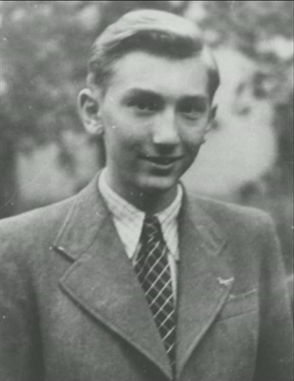 Jan Milíč Zelenka, son of famous resistance fighter Jan Zelenka. Source: http://www.ceskatelevize.cz/porady/10350893065-heydrich-konecne-reseni