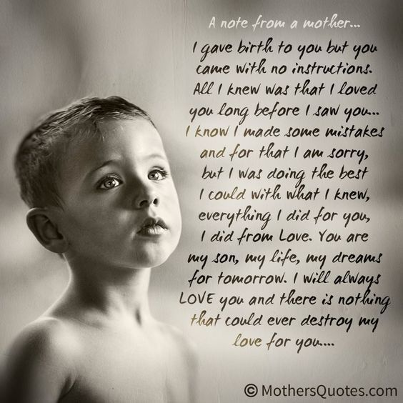 Best 25+ Mother Child Quotes Ideas On Pinterest