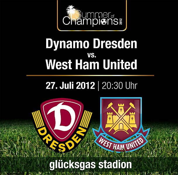 The Hammers will travel to the Glucksgas Stadium for what promises to be a mouth-watering fixture against the 2.Bundesliga side on Friday 27 July, with kick-off at 8.30pm local time.