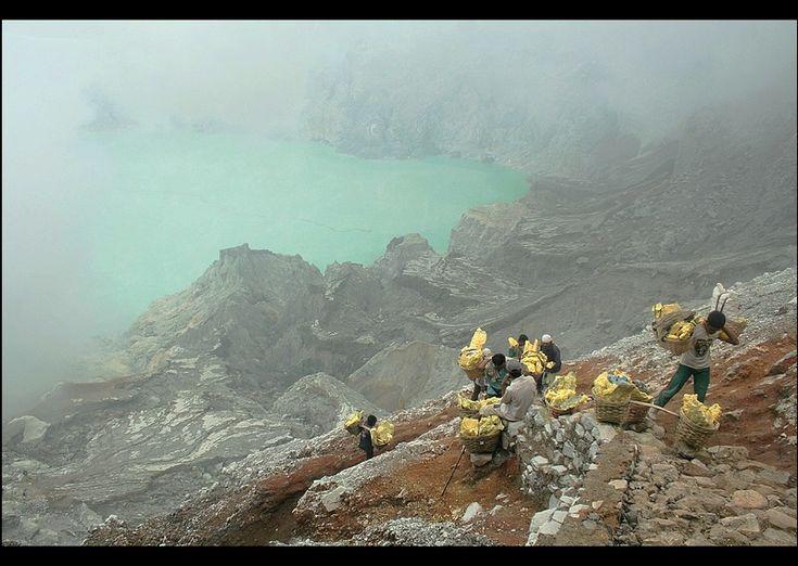 Sulphur Quarry - Kawah Ijen, Jawa Timur