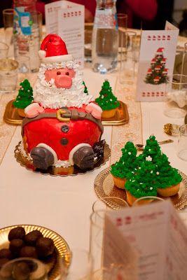 Ghi-gò creazioni archi-alternative: Si avvicina il Natale....questa era la mia tavola ...
