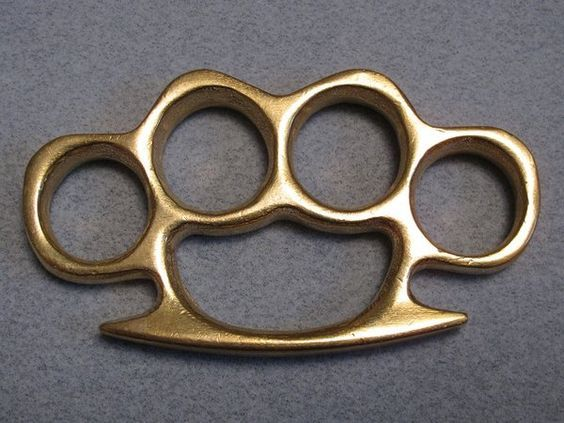 Real Deal 100% Solid Brass Knuckles
