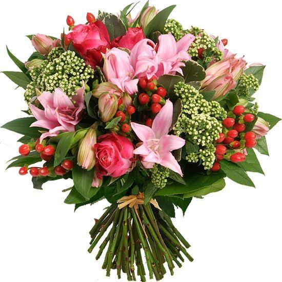 110 best images about bouquets aquarelle on pinterest for Fleurs amaryllis bouquet