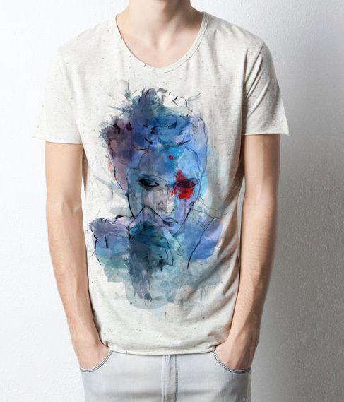 Blue lover by vale agapi, via Behance