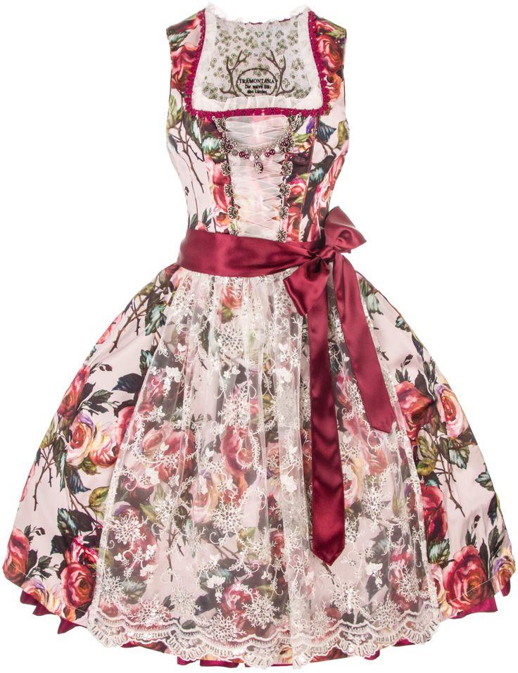 Amazing Das moderne Designer Dirndl Annabelle ist eine feminine Tramontana Kreation in Beerent nen Kaufen Sie Ihr Tramontana Dirndl g nstig u auf Rech